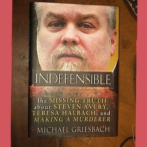 NEW Indefensible hard cover book.